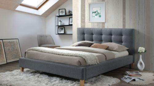 Łóżko Texas szare