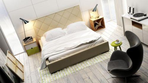 Łóżko Quaddro Caro